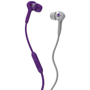 Skullcandy Smokin Buds 耳機 帶線控與咪 Purple Grey S2SBDY-210 香港行貨