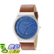 [美國直購] Skagen Men's 男士手錶 SKW6160 Grenen Dark Brown Leather Watch