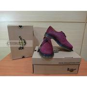 【Awesome】Dr. Martens 1461 3孔 低筒 櫻桃紅色 馬毛 馬汀靴【結束營業最後現貨促銷】