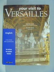 【書寶二手書T2/旅遊_ZEQ】Your visit to Versailles_Simone Hoog