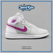 七折☆SP☆美國 NIKE JORDAN 1 RETRO HIGH GP 中童 灰紫 AJ1 705321-018