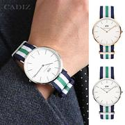 【Cadiz】瑞典DW手錶Daniel Wellington 0108DW玫瑰金 0208DW銀 Nottingham 40mm [代購/ 現貨]