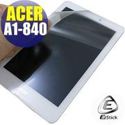 【EZstick】ACER Iconia Tab 8 A1-840 專用 靜電式平板LCD液晶螢幕貼 (鏡面)