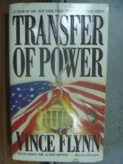 【書寶二手書T2/原文小說_OSV】Transfer of Power_Vince Flynn