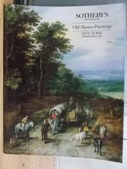 【書寶二手書T7/收藏_ZIJ】Sothebys_Old Master Paintings_1990/6/1