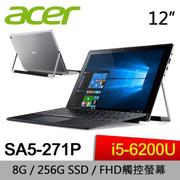 ACER 宏碁 SA5-271P-574Y 12吋筆電 6代Core i5/HD Graphics 520/256GB