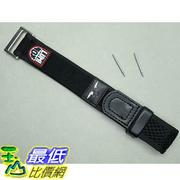 [美國直購] Genuine Luminox 22mm 27mm Navy Seal nylon velcro watch band black 3000 3050 3900 錶帶