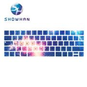 【SHOWHAN】Apple MacBook Pro Touch Bar 13吋英文鍵盤膜  星空1號
