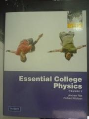 【書寶二手書T7/大學理工醫_ZAT】Essential College Physics:Volume2