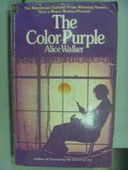 【書寶二手書T3/原文小說_NDX】The Color Purple_Alice Walker