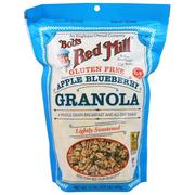 [iHerb] Bob's Red Mill, Apple Blueberry Granola, Gluten Free, 12 oz (340 g)