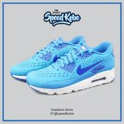 六折☆SPEEDKOBE☆NIKE AIR MAX 90 ULTRA BR CH 寶藍色洞洞 3M 776661-404