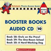 Phonics Booster Books Audio CD 10 (Book 28-30..