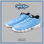 ☆SP☆ NIKE AIR JORDAN 9 RETRO LOW GS 水藍白 皮革 23 女 833447-401