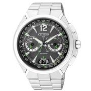 CITIZEN Eco-Drive 現代科技風光動能GPS電波錶 CC1091-50F