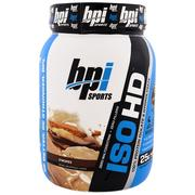 [iHerb] BPI Sports, ISO HD,100%乳清蛋白分離物和水解產物,S'Mores,1.8磅(805克)