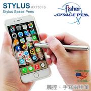 Fisher Stylus Space Pens 觸控兩用筆-銀色#X750/S【AH02152】