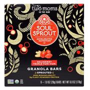 [iHerb] Two Moms in the Raw, Soul Sprout, Granola Bars, Gojiberry Triple Yum-Yum, 6 Bars, 1 oz (28 g) Each