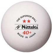 【登瑞體育】NIttaku 2 Star SUPERIOR 40+ 桌球3入裝_NT2STAR