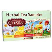 [iHerb] Celestial Seasonings, Herbal Tea Sampler, Caffeine Free, 5 Flavors, 18 Tea Bags, 1.0 oz (30 g)