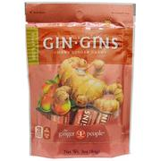 [iHerb] [iHerb] The Ginger People Gin·Gins, Chewy Ginger Candy, Spicy Apple, 3 oz (84 g)