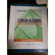 可議價聊聊_Linear Algebra with Applications sixth edition