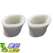 [106美國直購] 2 Vicks WF2 Humidifier Filters Fits Vicks V3500N V3100 V3900 Series V3700 Sunbeam 1118 Series