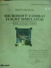 【書寶二手書T6/軍事_QIQ】Microsoft Combat Flight Simulator