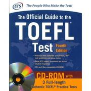 Official Guide to the TOEFL Test 4/e(with CD-..