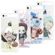 MOLANG iPhone5/IPHONE 5/5S/SE 航海王ONEPIECE透明手機殼