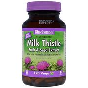 [iHerb] [iHerb] Bluebonnet Nutrition Milk Thistle Fruit & Seed Extract, 120 Vcaps