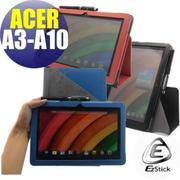 【EZstick】ACER Iconia A3-A10 系列專用 平板皮套 (背夾旋轉款式) (送平板機身背貼)