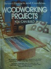 【書寶二手書T2/建築_YKD】Woodworking Project_You Can Build