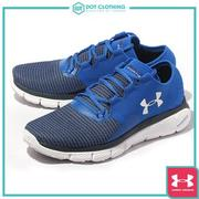 DOT聚點 UA UNDER ARMOUR SPEEDFORM FORTIS 2 慢跑鞋 藍 男 1273942-907