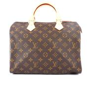 【LV】Monogram speedy30手提波士頓 M41108