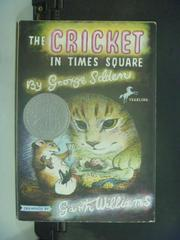【書寶二手書T3/原文小說_KII】The cricket in Times Square_Selden