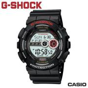 "CASIO GD-100-1A《G-SHOCK ""BIG G""》超亮極光LED系列 (黑銀)"