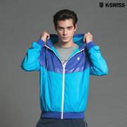 K-Swiss Basic Windbreaker風衣外套-男-藍