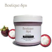 Boutique Spa 山竹嫩白去角質霜 Mangosteen Body Scrub   300g
