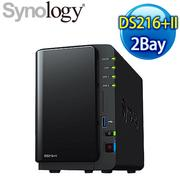 Synology 群暉 DiskStation DS216+II 2Bay NAS 網路儲存伺服器