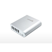 XPower PB136 13600mAh 5 port 外置充電器 銀色 香港行貨