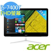 Acer Z24-880 23.8吋All in one 觸控液晶電腦 (i5-7400T/8G/1TB+128G SSD/Win10)