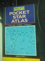 【書寶二手書T2/科學_IIV】Philips Pocket Star Atlas_Cox, John