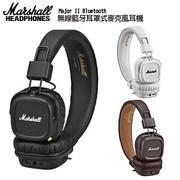 【Marshall】MAJOR II Bluetooth無線藍牙耳罩式耳機