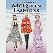 Alexander Mcqueen Fashions: Re-Created in Paper Dolls, Green Edition