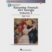 Favorite French Art Songs: With a Companion Cd of Accompaniments And Pronunciation Lessons
