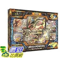 [8美國直購] Pokemon TCG Mega Powers Collection Card Game B01N4R5Z47