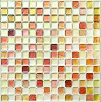 [Shipping from japan]Dream Sticker Kitchen Tile Seal Mosaic Tile Seal (31 × 31cm square) Sapphire Bl