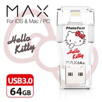PhotoFast i-FlashDrive MAX Hello Kitty 64GB USB 3.0Apple隨身碟