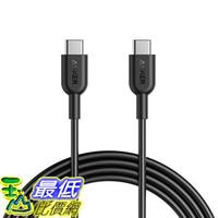 [8美國直購] 充電線傳輸線 Anker AK-A8482011 Powerline II USB C to USB C 2.0 Cable (6ft) USB-IF Certified, Power Delivery PD